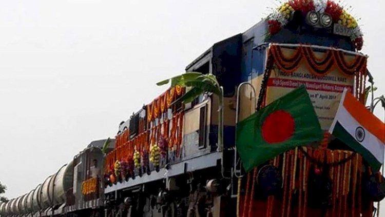 ভারতের প্রথম মালবাহী ট্রেন বাংলাদেশে
