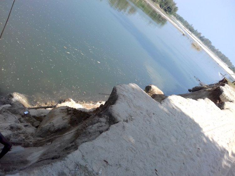 পঞ্চগড়ের রাঙ্গামাটি বারপাটিয়া-ডাঙ্গাপাড়ার ফসলি জমি নদী গর্ভেবিলীন সরিয়ে নিতে হচ্ছে বাড়ি-ঘর