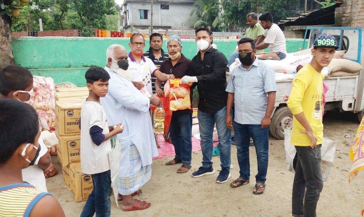 দিনাজপুরে শহরে পাটুয়াপাড়া যুবসমাজের উদ্যোগে ন্যায্যমূল্যে খাদ্যপণ্য বিক্রয় কেন্দ্রের উদ্বোধন