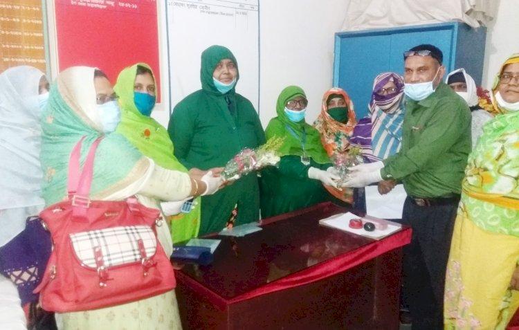 দিনাজপুর জেনারেল হাসপাতালে নতুন সেবা তত্বাবধায়ক হিসেবে বেগম শামীম আরা'র যোগদান